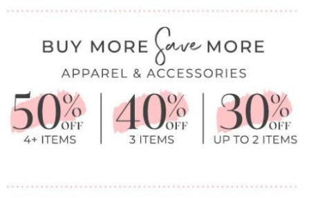 Buy More, Save More from Lane Bryant