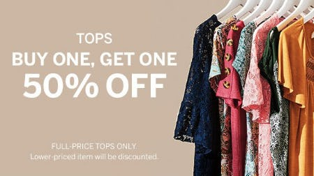 Tops Buy One, Get One 50% Off from Dress Barn, Misses And Woman