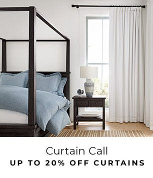 Up to 20% Off Curtains