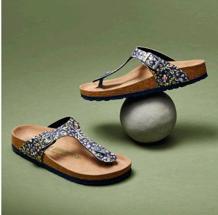 Meet the Spring Sandals