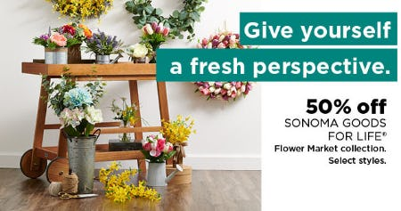 50% Off Sonoma Goods For Life from Kohl's