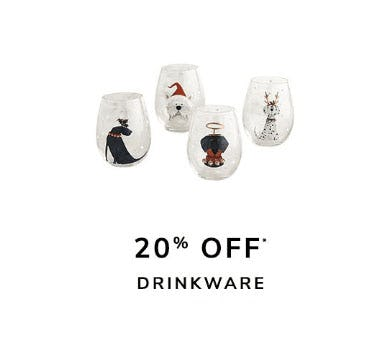 20% Off Drinkware from Pier 1 Imports