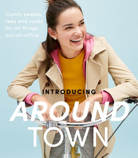 Introducing: J.Crew Factory Around Town from J.Crew Factory