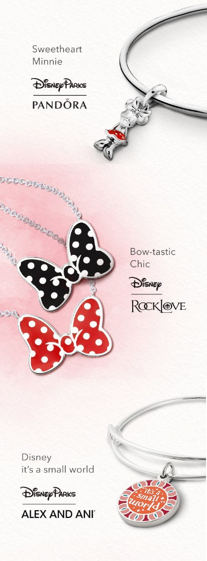 New Jewelry from PANDORA from Disney Store