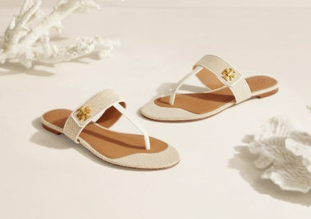 Our Must-Have White Sandal from Tory Burch