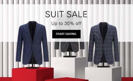 Suit Sale up to 30% Off from Hugo Boss