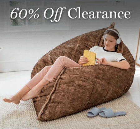 60% Off Clearance from Lovesac