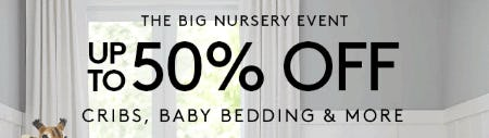 The Big Nursery Event from Pottery Barn Kids