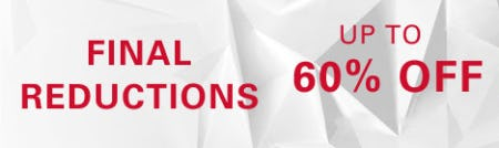 Up to 60% Off Final Reductions from Boss