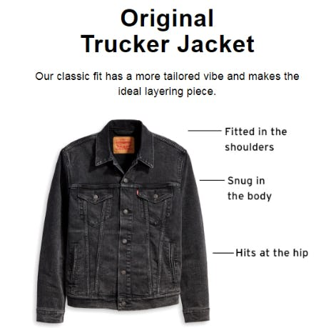 The Original Trucker Jacket from The Levi's Store