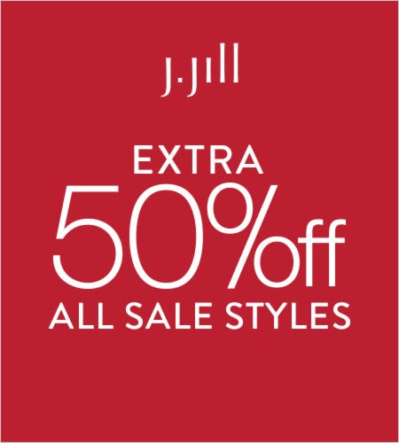 Extra 50% off* All Sale Styles from J.Jill