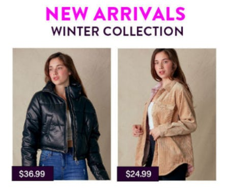 New Arrivals Winter Collection from Papaya