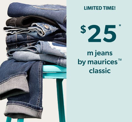 $25 M Jeans by Maurices Classic from maurices
