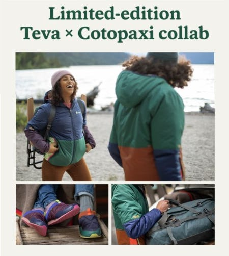 The Limited-Edition Teva x Cotopaxi Collection from REI