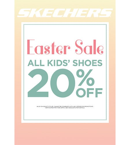 SKECHERS EASTER KIDS' SALE