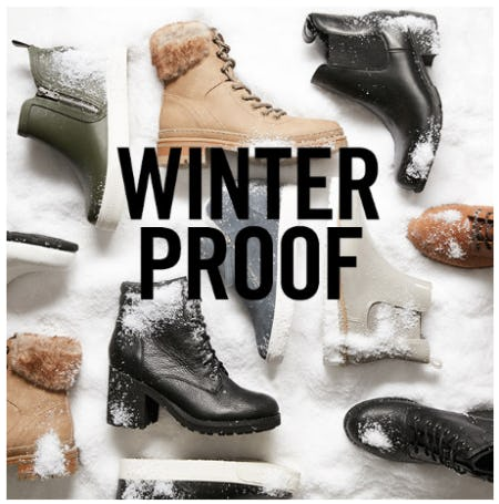 Winter Proof Footwear