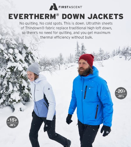 Evertherm Down Jackets from Eddie Bauer