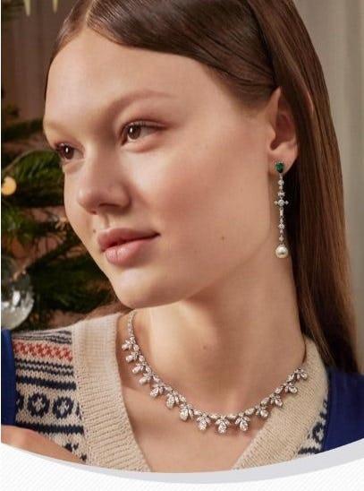 Drop Earrings for the Festive Season