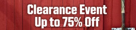 Clearance Event: Up to 75% Off from Dick's Sporting Goods