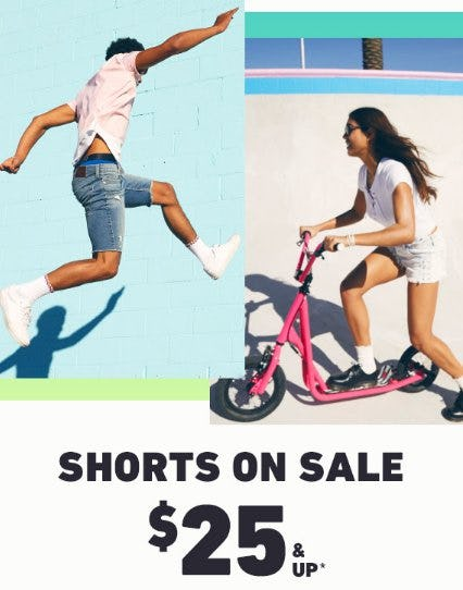 Shorts on Sale $25 & Up from Hollister Co.