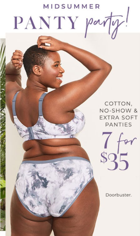 Select Panties 7 for $35 from Lane Bryant