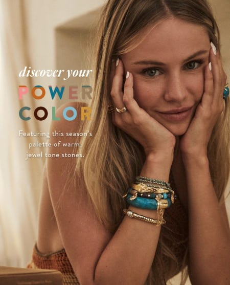Discover Your Power Color from Kendra Scott