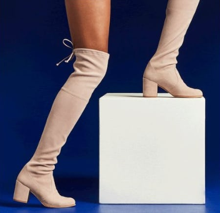 Our Iconic Over-the-Knee Tieland from STUART WEITZMAN