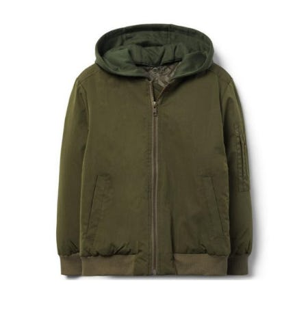 Hooded Bomber Jacket from Crazy 8