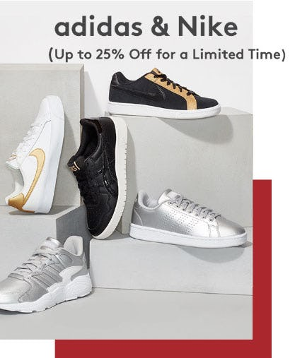Up to 25% Off Adidas & Nike from Nordstrom Rack