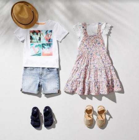 Kids Transitional Styles from H&M