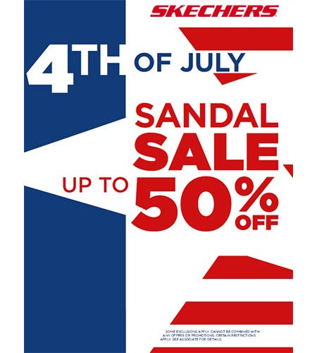 4TH OF JULY SANDAL SALE! from Skechers