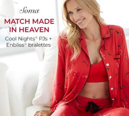 Enbliss + Cool Nights from Soma Intimates
