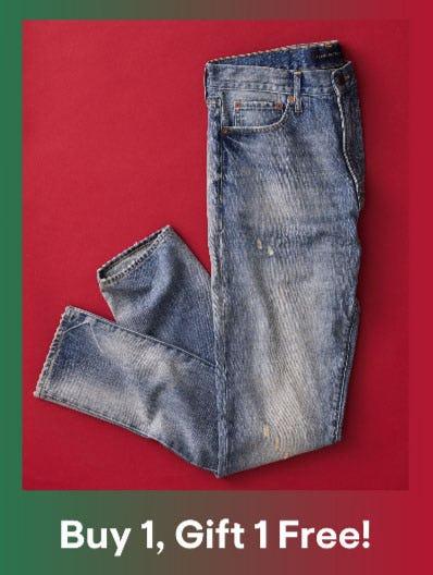Buy 1, Get 1 Free Jeans