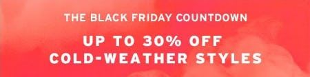 Up to 30% Off Cold-Weather Styles from TOPSHOP