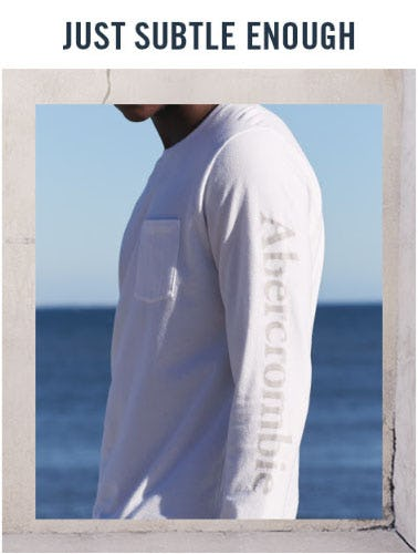 New Tonal Graphics from Abercrombie & Fitch