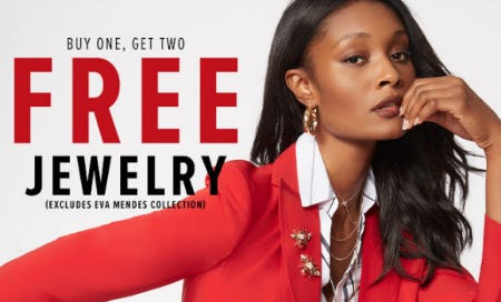 B1G2 Free Jewelry from New York & Company