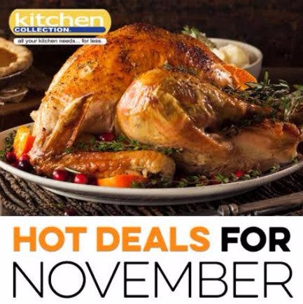 November_Kitchen Collection 2017 Promotions & Sales