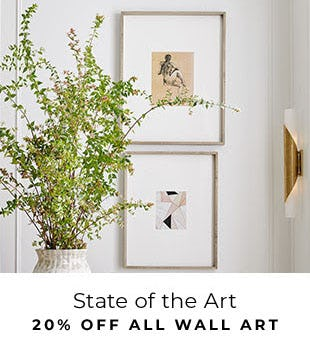 20% Off All Wall Art