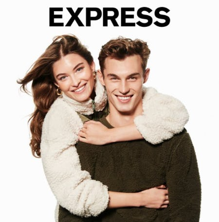50% Off Everything + Free Blanket with any $100 purchase! from Express