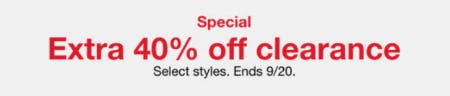 Extra 40% Off Clearance from macy's