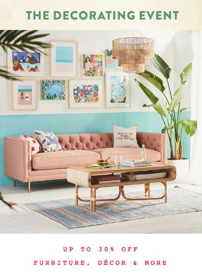 Up to 40% Off The Decorating Event from Anthropologie