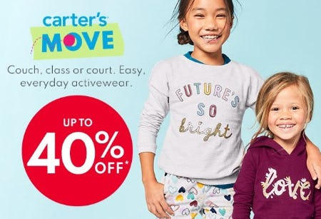 Up to 40% Off Activewear