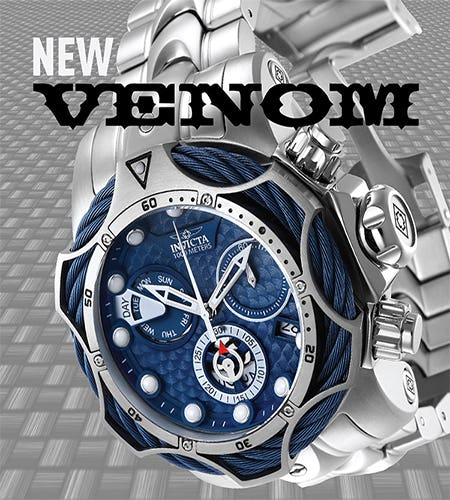 New Invicta Reserve Venom