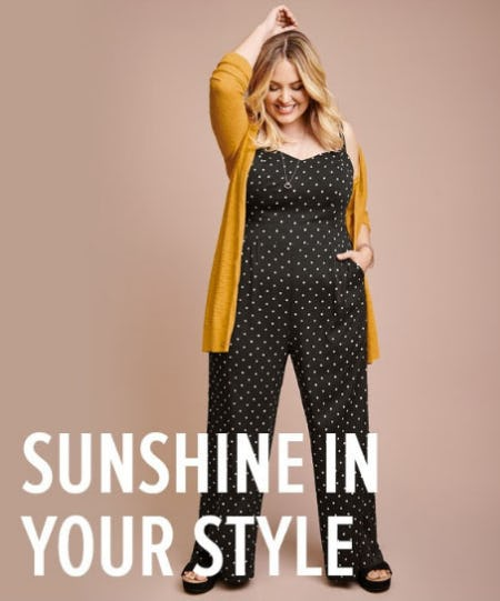 Sunshine in Your Style from Torrid