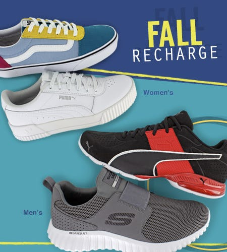 Fall Recharge from Shoe Dept.
