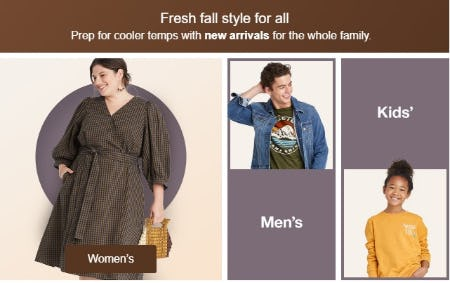 Fresh Fall Style For All from Target
