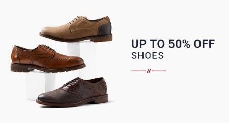 Up to 50% Off Shoes from Men's Wearhouse