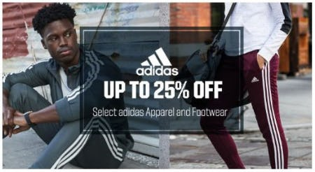 Up to 25% Off Select adidas Apparel & Footwear from Dick's Sporting Goods