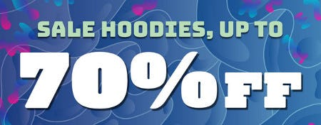 Sale Hoodies Up 70% Off from Zumiez