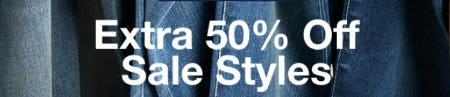 Extra 50% Off Sale Styles from Gap